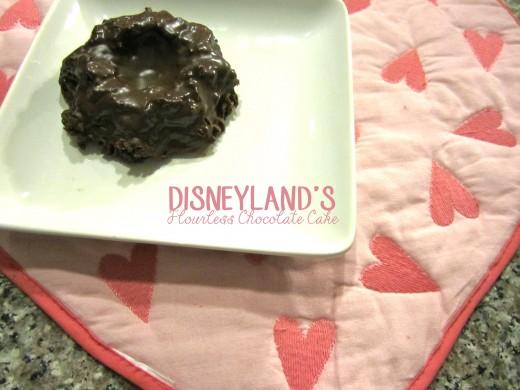 Disneyland's Flourless Chocolate Cake