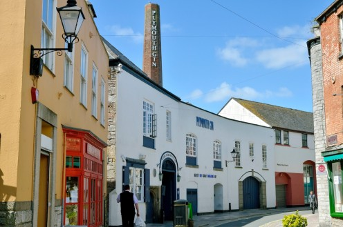 The Plymouth Gin distillery on The Barbican
