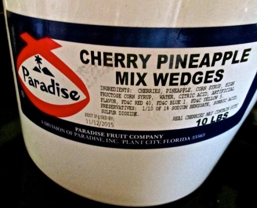 Paradise Cherry Pineapple Mix