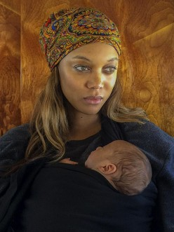 Tyra Banks Congrats Mommy
