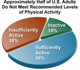 Physical Inactivity Levels in the US