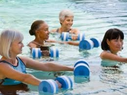 Swimming and Anti Aging