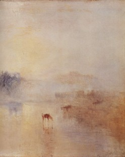 Norham Castle at Sunrise, detail, by J M Turner, 1835-1840. The Yorck Project: 10.000 Meisterwerke der Malerei. DVD-ROM, 2002. ISBN 3936122202. Distributed by DIRECTMEDIA Publishing GmbH.