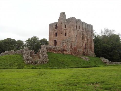 Norham Castle southeast
