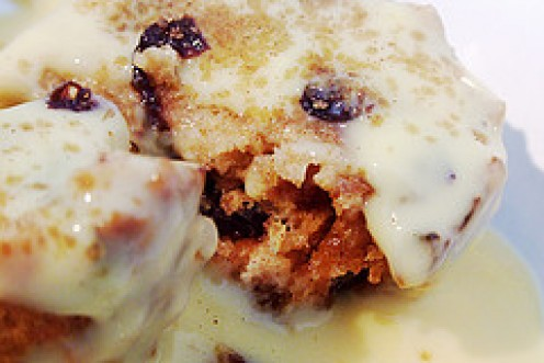 Luscious Steamed Spotted Dick