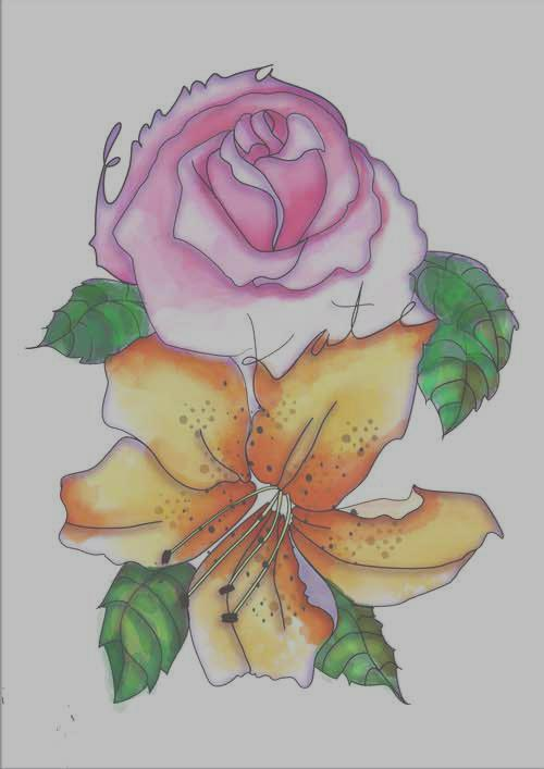 This was the final product that I chose as the winner of my Tattoodo tattoo design contest.