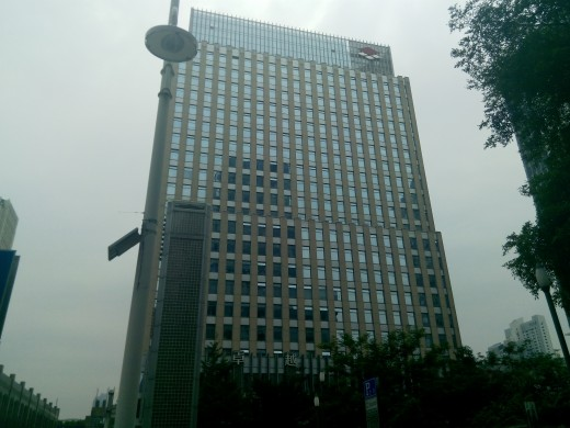 High Rise Office Block in China