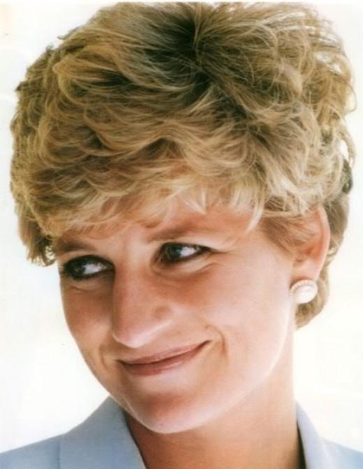 Princess Diana:  Relative of Churchill.