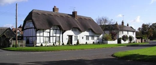 Charles Walton's cottage. This was three cottages in his time