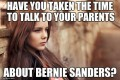 Win Your Parents Over to Bernie Sanders