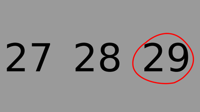 29th Feb