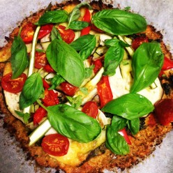 Gluten Free, Delicious, Healthy and Easy Cauliflower Pizza a must try!