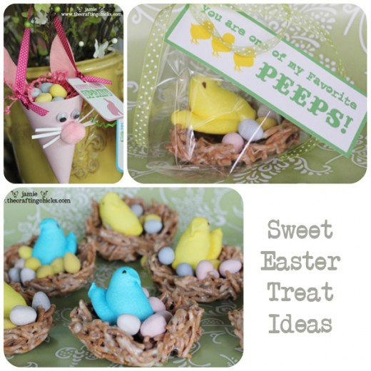 The Crafting Chicks also have some great Easter treat recipes that use Peeps Candy