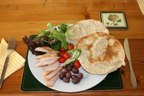 A Summer Plate With Salads