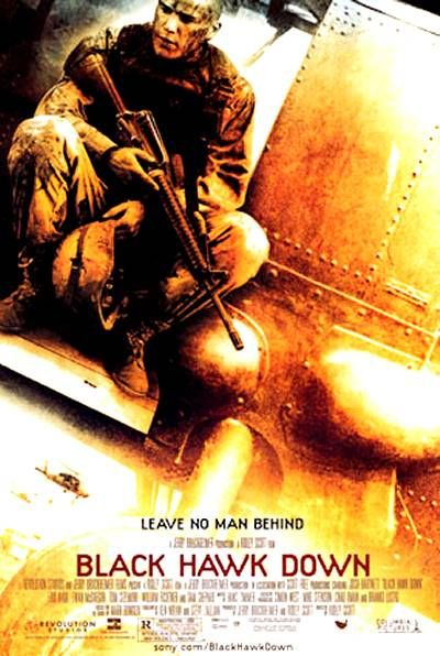 "Poster for ""Black Hawk Down"""
