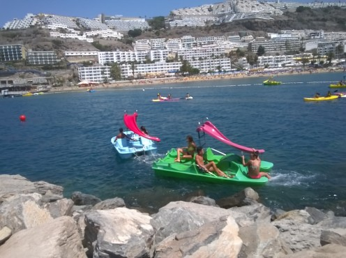 Water-sports for all the family in Puerto Rico, Gran Canaria