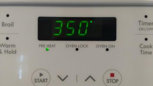 preheat to 350
