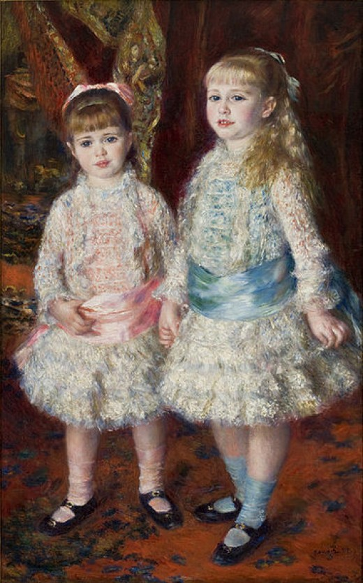 Pink and Blue - The Cahen d'Anvers Girls