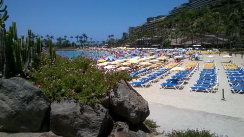 Anfi beach, Gran Canaria, Canary Islands