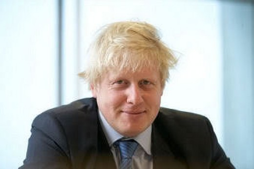 Boris Johnson:  Wannabe Churchill and friend of David Cameron who also wants us out of the EU.