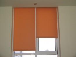 So, you can see how these blackout shades can actually be colorful.  Photo courtesy http://www.flickr.com/photos/8671826@N03/870740996/