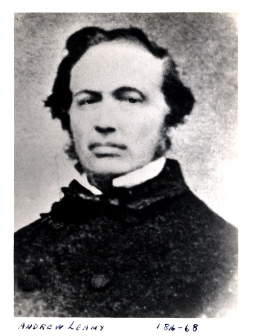 Photo of Andrew Leamy, pioneer industrialist of Hull QC.