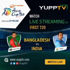 India vs Bangladesh face-off on 24th Feb to kick start the T20 Asia Cup 2016 Series