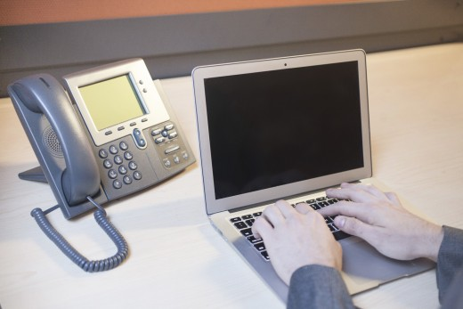 Traditional business telephone system