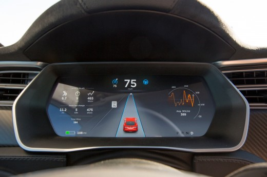 Tela Model S' Autopilot feature.