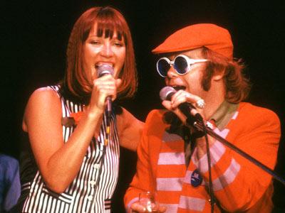 Elton John and  Kiki Dee