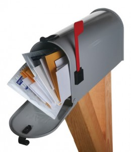 Junk Mail in your mailbox