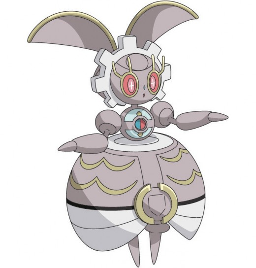 The recently announced legendary pokémon Magearna