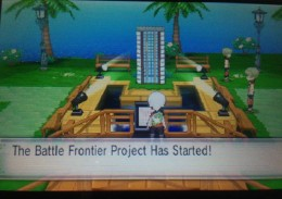 Battle Frontier Easter Egg in ORAS