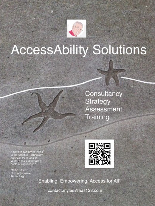 """Enabling, empowering access for all,"" is our mission statement ."