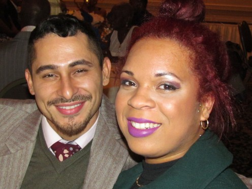 One of the couples who attended the celebration of love and marriage between Walt and Joni.