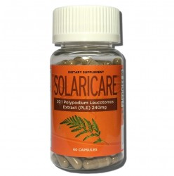 SOLARICARE - Polypodium Leucotomos extract (PLE) helps protect your skin from the damaging effects of the sun!