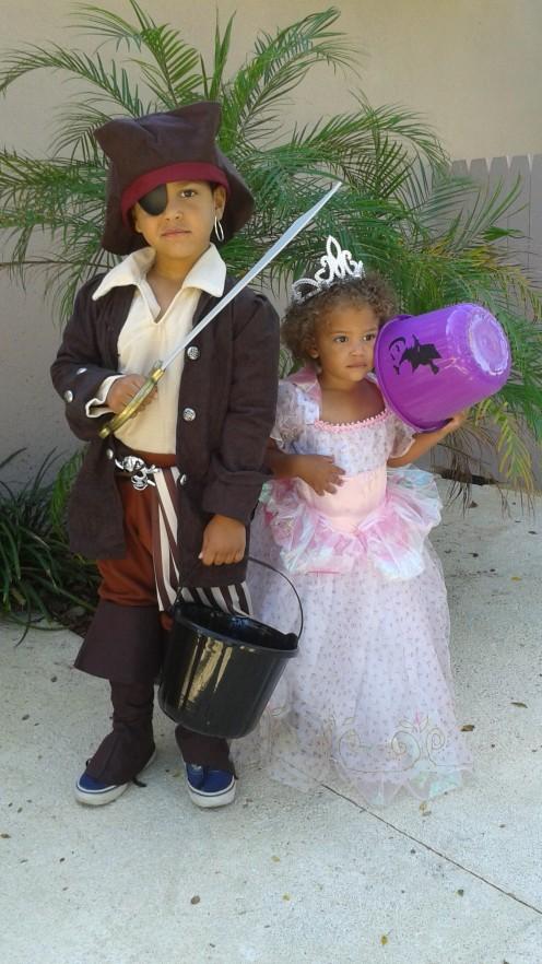 My Kids: Trea & Khia Rae