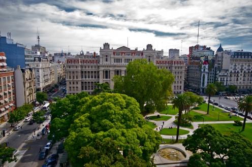 Palacio de Tribunales, Lavalle Square, Buenos Aires