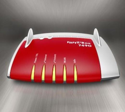 AVM FRITZ!Box 7490 International 4-Port Gigabit Wi-Fi Router
