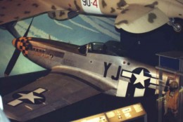 A P-51 at the National Air & Space Museum.