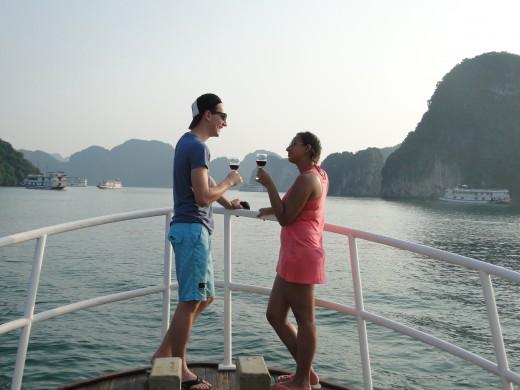 Halong cruise trip