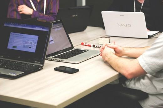Start-up online marketing study.