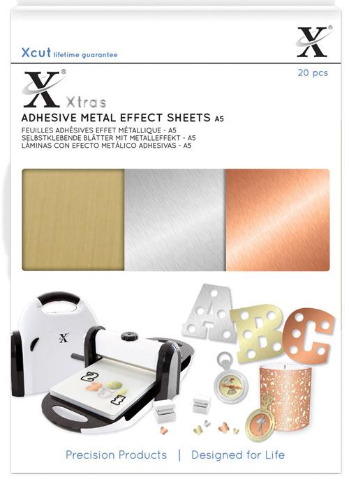 Adhesive Metal Effect Sheets