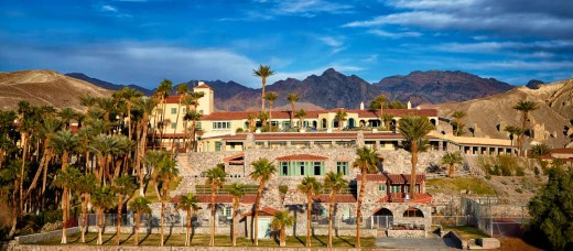 The Furnace Creek Resort.