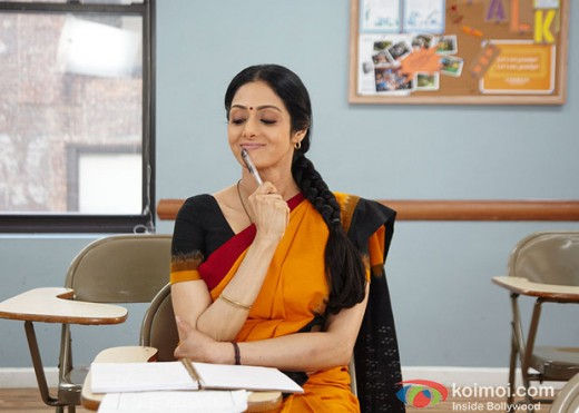 Sridevi, star of the Indian movie English Vinglish about learning English in America.