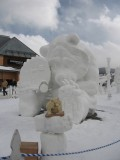 From a Single Block of Snow: Annual Budweiser Snow Sculpture Championships Come to Life