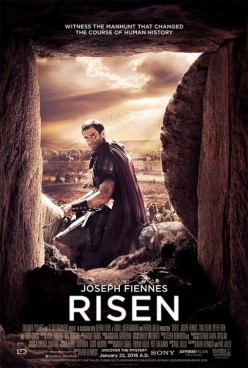 Risen, takes a new and different look at the Resurrection of Christ