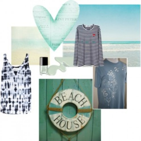 Just blue inspiration for your casual clothing