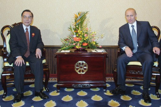 Russian and Chinese leadership.