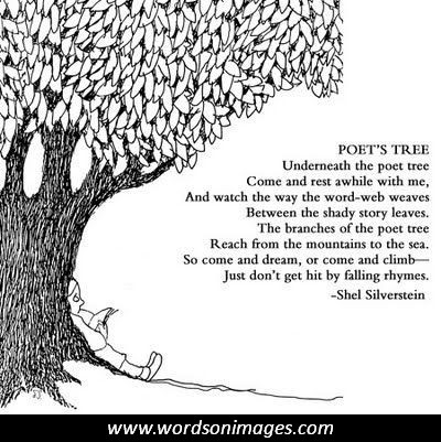 the Poet's Tree by Shel Silverstein